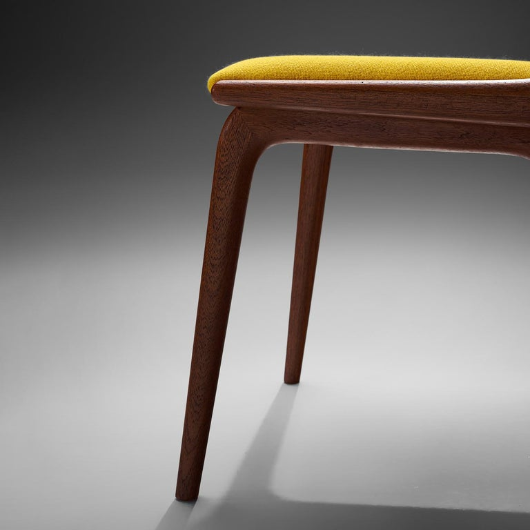 Alfred Christensen Set of 'Boomerang' Chairs in Teak For Sale 1