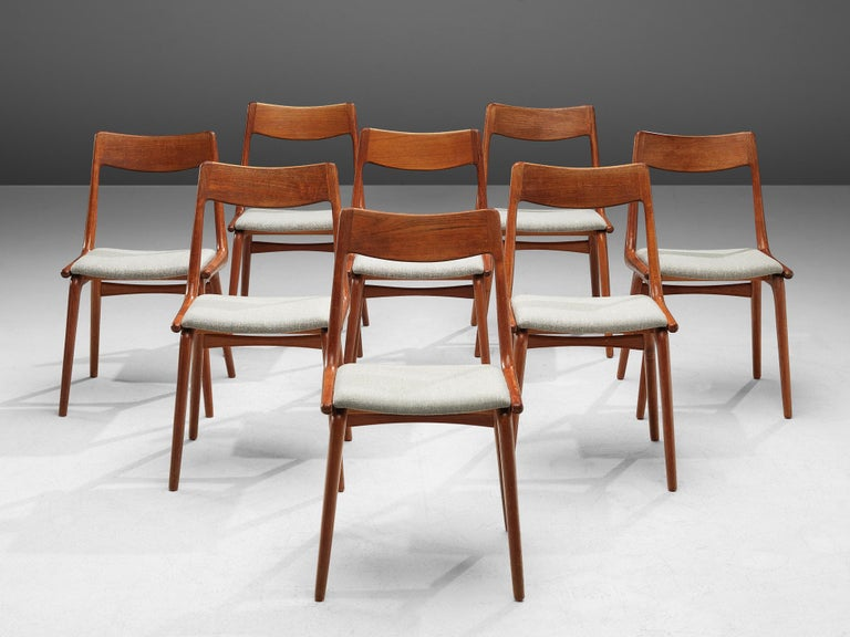 Mid-Century Modern Alfred Christiansen 'Boomerang' Chairs For Sale