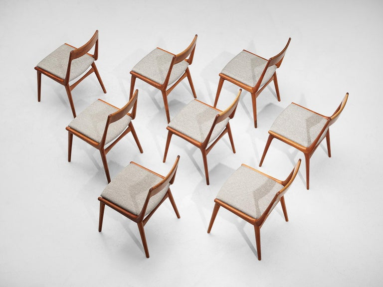Danish Alfred Christiansen 'Boomerang' Chairs For Sale