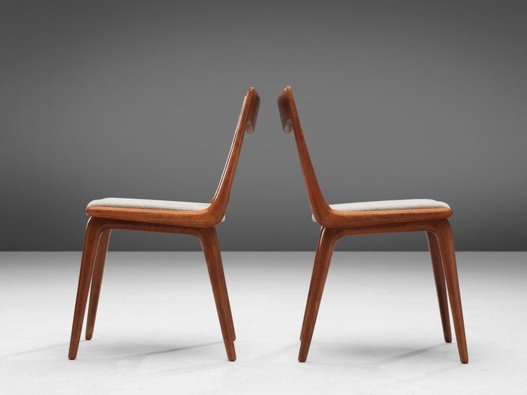 Alfred Christiansen 'Boomerang' Chairs For Sale 1