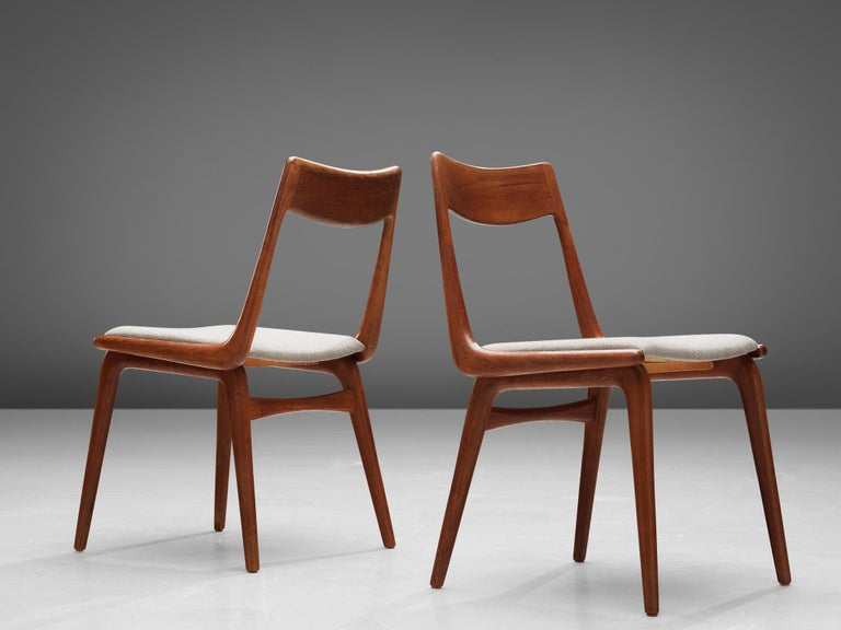 Alfred Christiansen 'Boomerang' Chairs For Sale 2