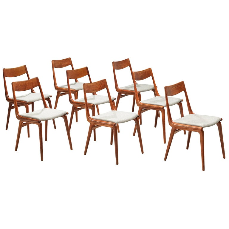 Alfred Christiansen 'Boomerang' Chairs For Sale