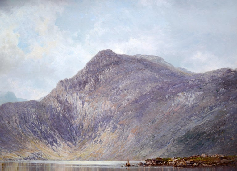 Lochnagar - 19th Century Landscape Oil Painting of the Scottish Highlands  For Sale 2