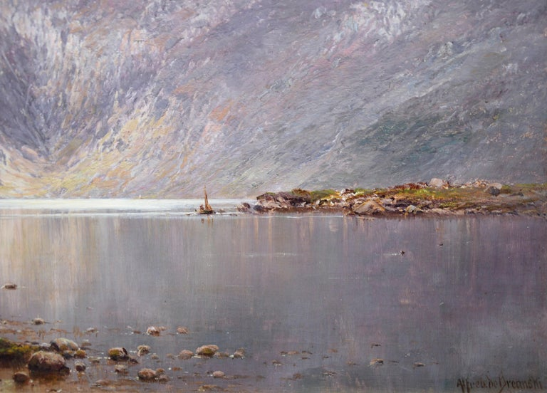 Lochnagar - 19th Century Landscape Oil Painting of the Scottish Highlands  For Sale 5