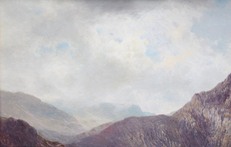 Lochnagar - 19th Century Landscape Oil Painting of the Scottish Highlands  For Sale 6