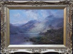 Scottish Landscape, Ben Lomond - British 19th century art oil painting Scotland