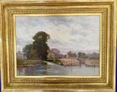 Winsor Lock, On the River Thames, Near London, England