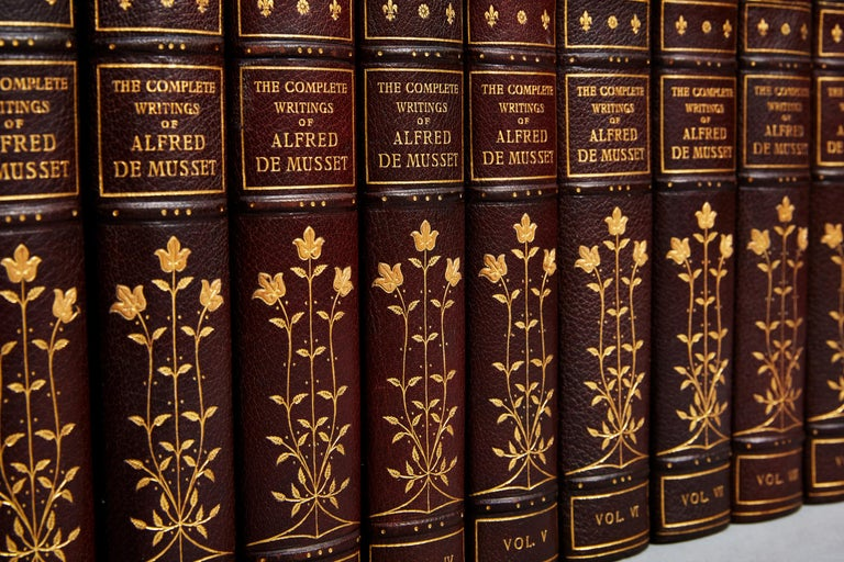 Alfred DeMusset's The Writings In Good Condition For Sale In New York, NY