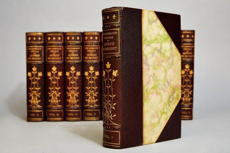 Early 20th Century Alfred DeMusset's The Writings For Sale