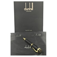 Alfred Dunhill Cubist Black Resin Rollerball Pen