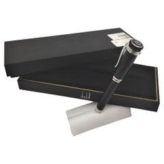 Alfred Dunhill Sentyrman Black Ballpoint Pen