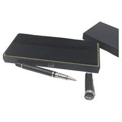 Alfred Dunhill Sentyrman Black Resin Rollerball Pen