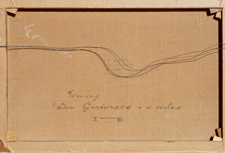 "Alfred Fontville De Breanski ""Evening-Llyn Gerioneed, N. Wales"