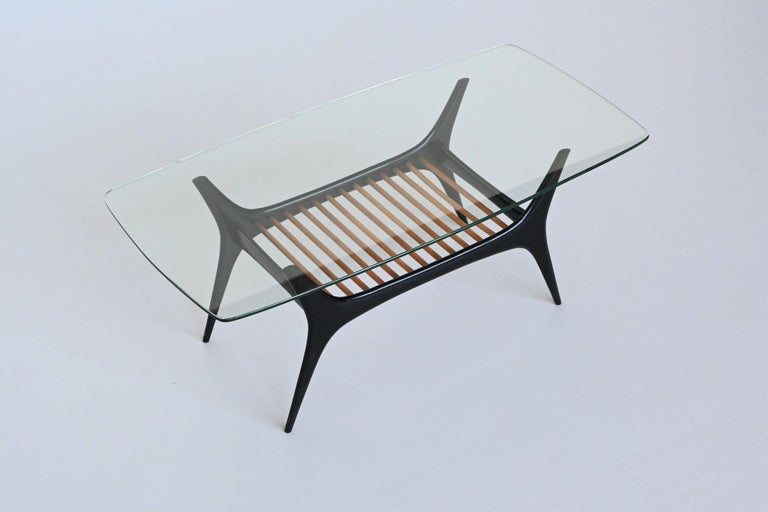 Alfred Hendrickx Coffee Table Belform, Belgium, 1958 5