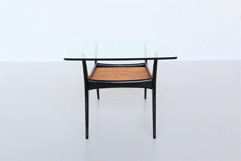 Belgian Alfred Hendrickx Coffee Table Belform, Belgium, 1958