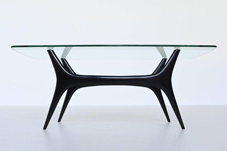 Alfred Hendrickx Coffee Table Belform, Belgium, 1958 In Good Condition In Etten-Leur, NL