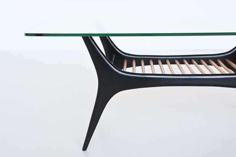 Mid-20th Century Alfred Hendrickx Coffee Table Belform, Belgium, 1958