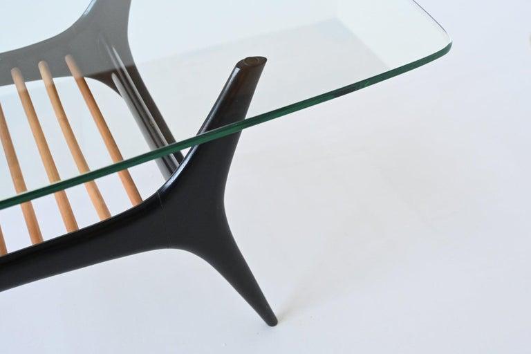 Alfred Hendrickx Coffee Table Belform, Belgium, 1958 1