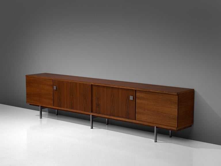 Mid-Century Modern Alfred Hendrickx Large Sideboard in Rosewood