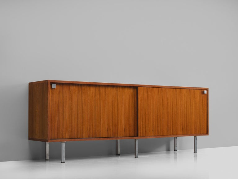 Alfred Hendrickx for Belform, sideboard in rosewood, Belgium, 1960s. 
