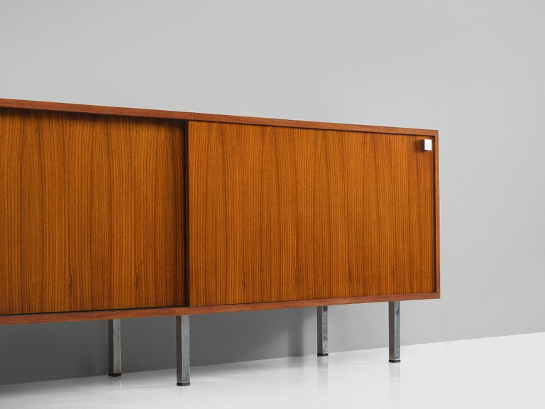 Alfred Hendrickx Sideboard in Rosewood In Good Condition For Sale In Waalwijk, NL
