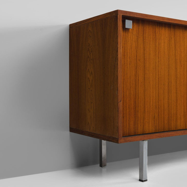 Mid-20th Century Alfred Hendrickx Sideboard in Rosewood For Sale