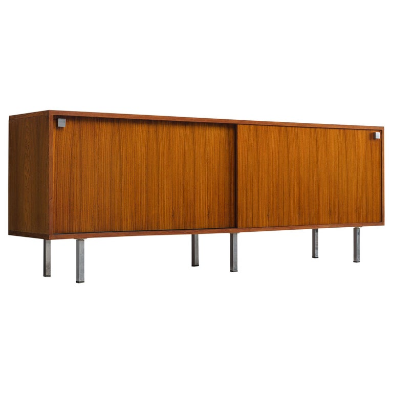 Alfred Hendrickx Sideboard in Rosewood For Sale