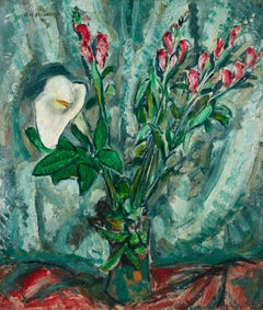 Floral Still Life with Calla Lily