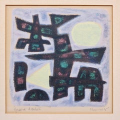 Untitled abstract expressionist print
