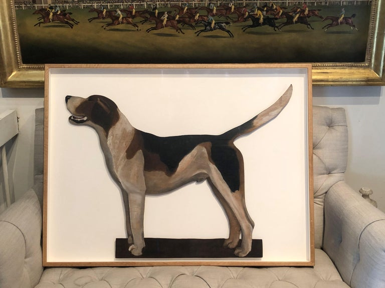1920s Famous Alfred Munnings Oil Painting of his Favourite Hound For Sale 7
