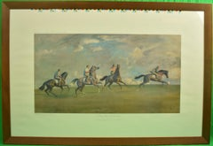 A Morning's Work-Newmarket Heath by Sir Alfred J. Munnings
