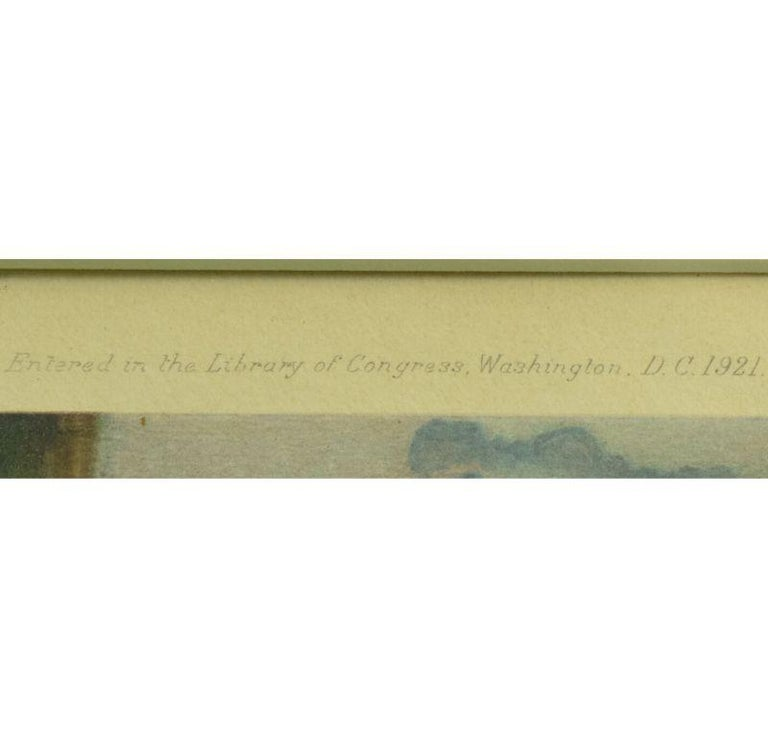 The Prince of Wales on Forest Witch c1921 by Sir Alfred Munnings (Signed!) For Sale 5