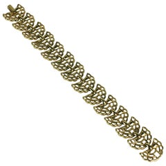 Alfred Philippe for Trifari Retro Link Bracelet