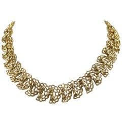 Alfred Philippe for Trifari Retro Link Necklace