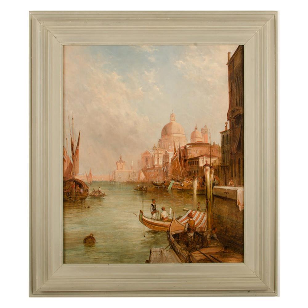 """Alfred Pollentine 'British , 1836-1890' """"S. Maria Della Salute, Venice"""""""