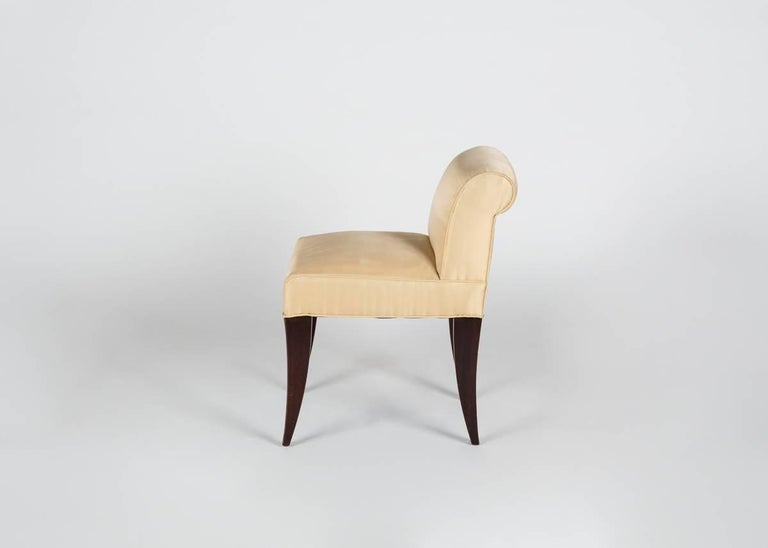 Alfred Porteneuve, Art Deco Writing Table and Chair, France, circa 1935 For Sale 2