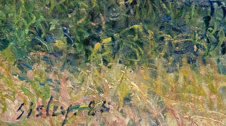 Confluent de la Seine et du Loing - Impressionist Painting by Alfred Sisley