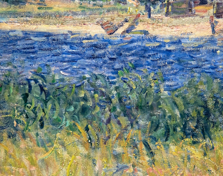 A painting by Alfred Sisley.