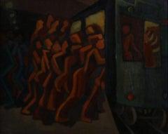 Rush Hour NYC Subway Commute
