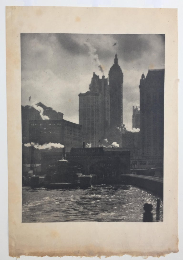 CITY OF AMBITION - Photorealist Photograph by Alfred Stieglitz
