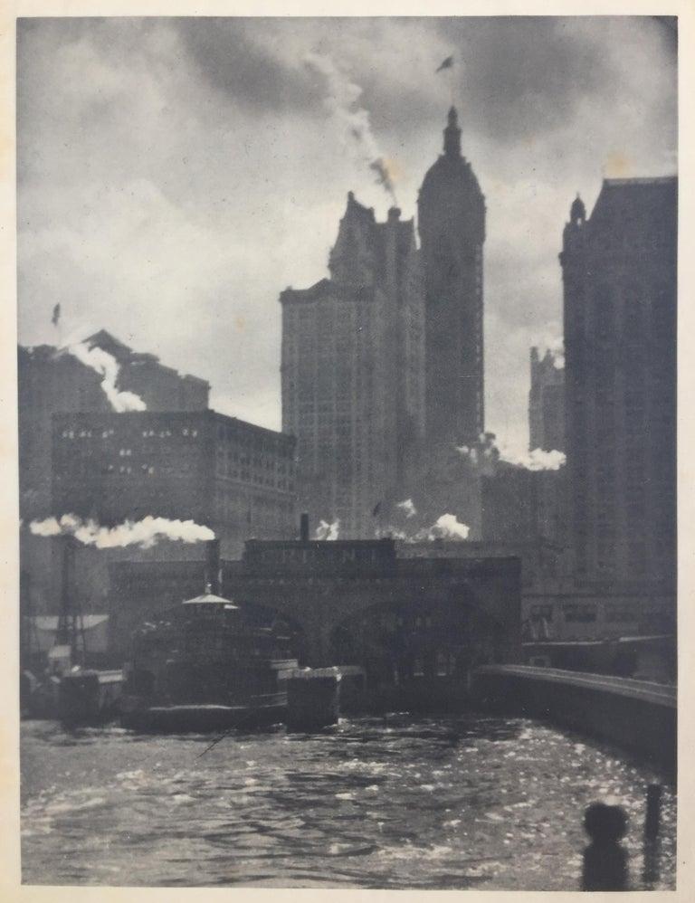 Alfred Stieglitz Landscape Photograph - CITY OF AMBITION