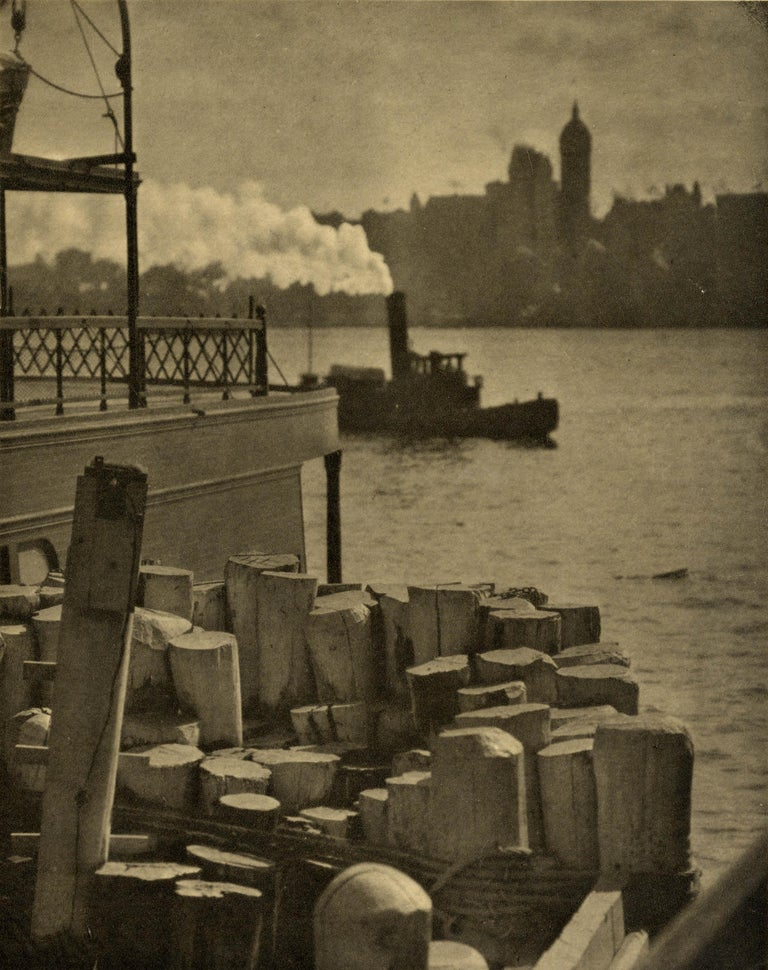 Alfred Stieglitz Black and White Photograph - The City across the River