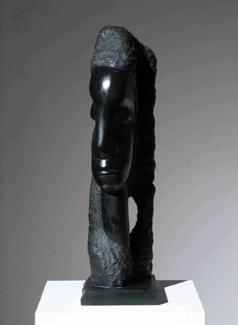 Sheeba - Sculpture by Alfred Van Loen