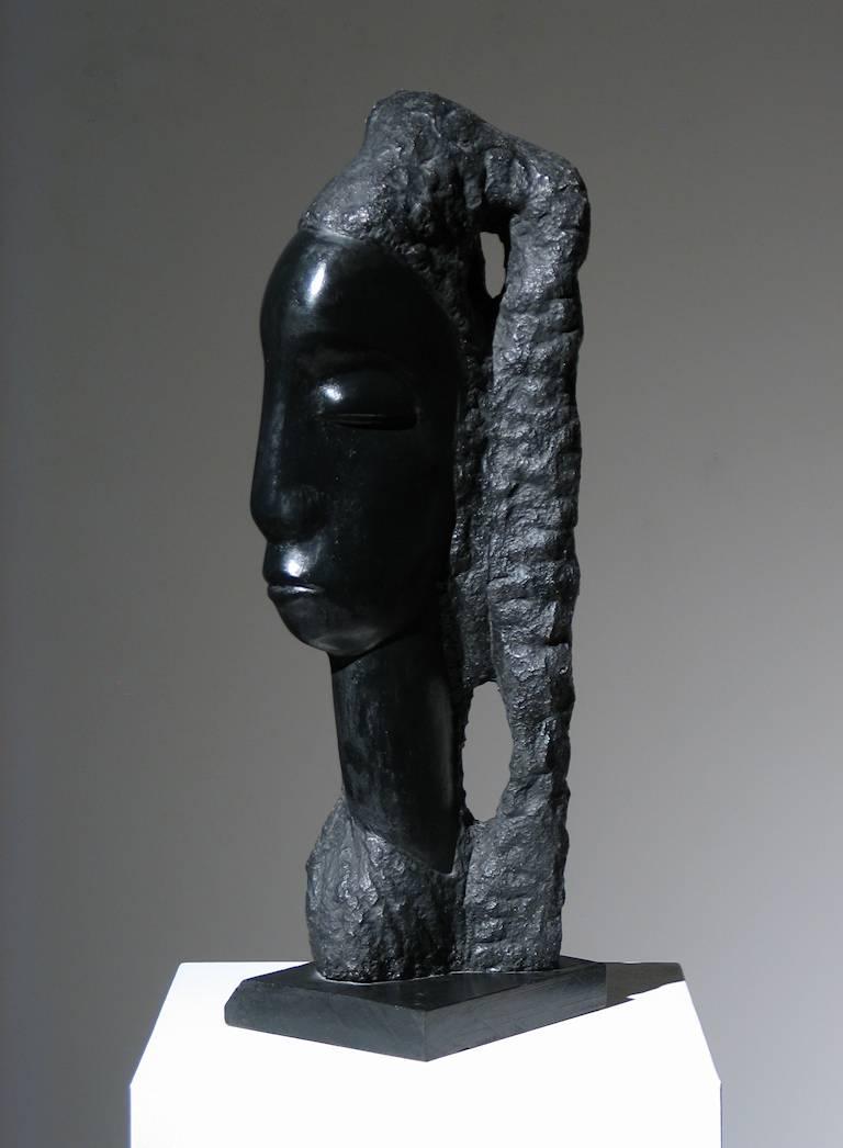 Alfred Van Loen Figurative Sculpture - Sheeba