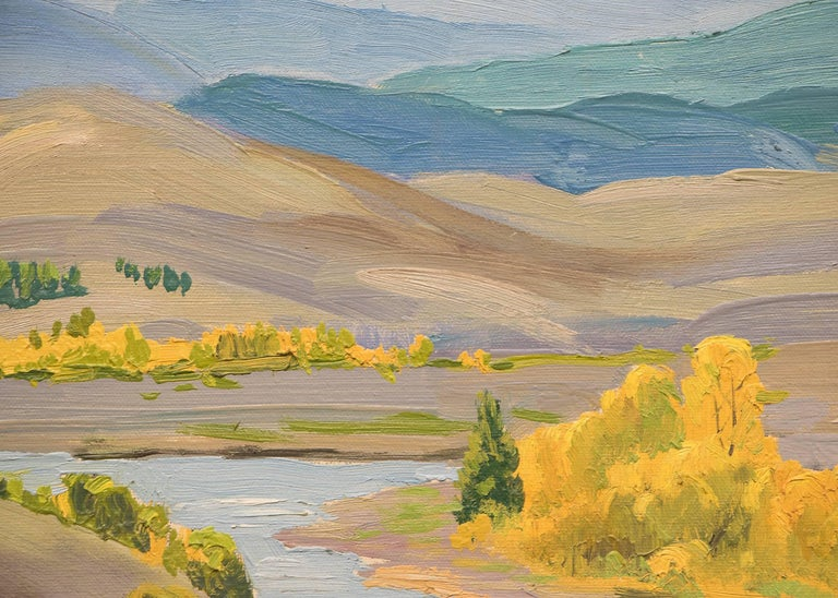 Colorado River - Painting by Alfred Wands