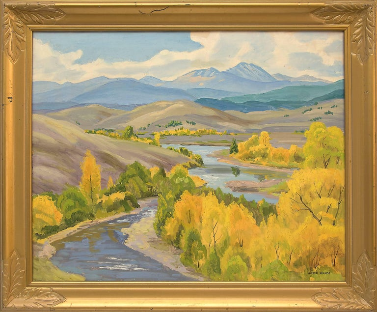 Alfred Wands Figurative Painting - Colorado River