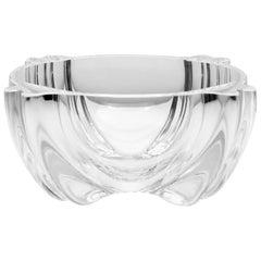 Alfredo Barbini for Oggetti Mod. 73 Clear Blown Glass Bowl, circa 1970