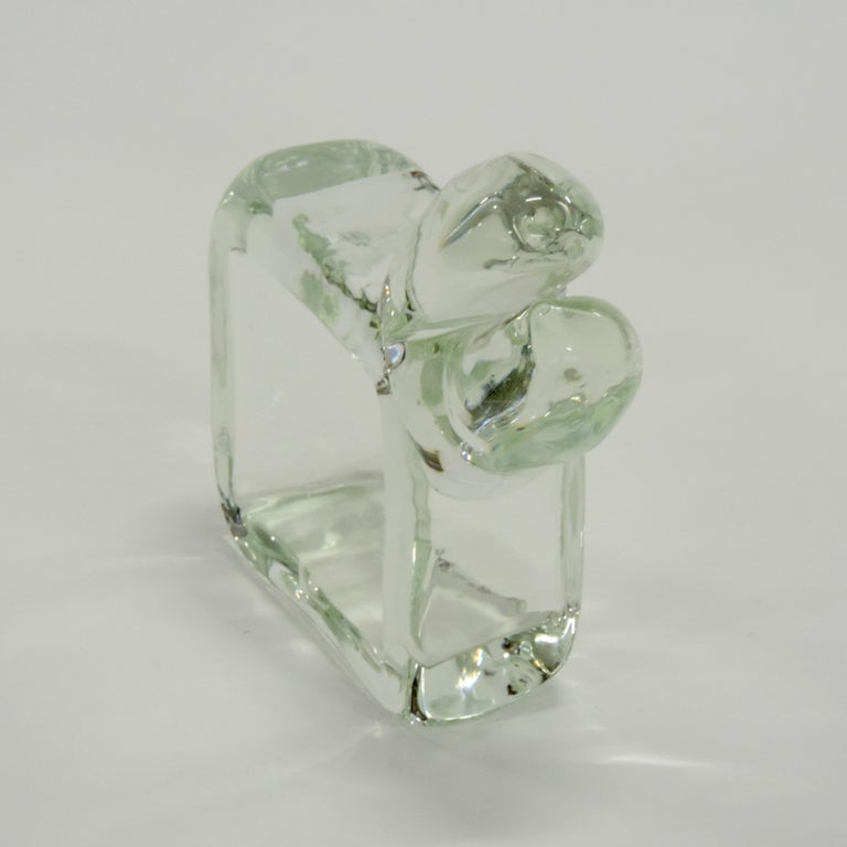 Alfredo Barbini Murano Glass Animal, Italy, 1960s In Excellent Condition For Sale In Milan, IT