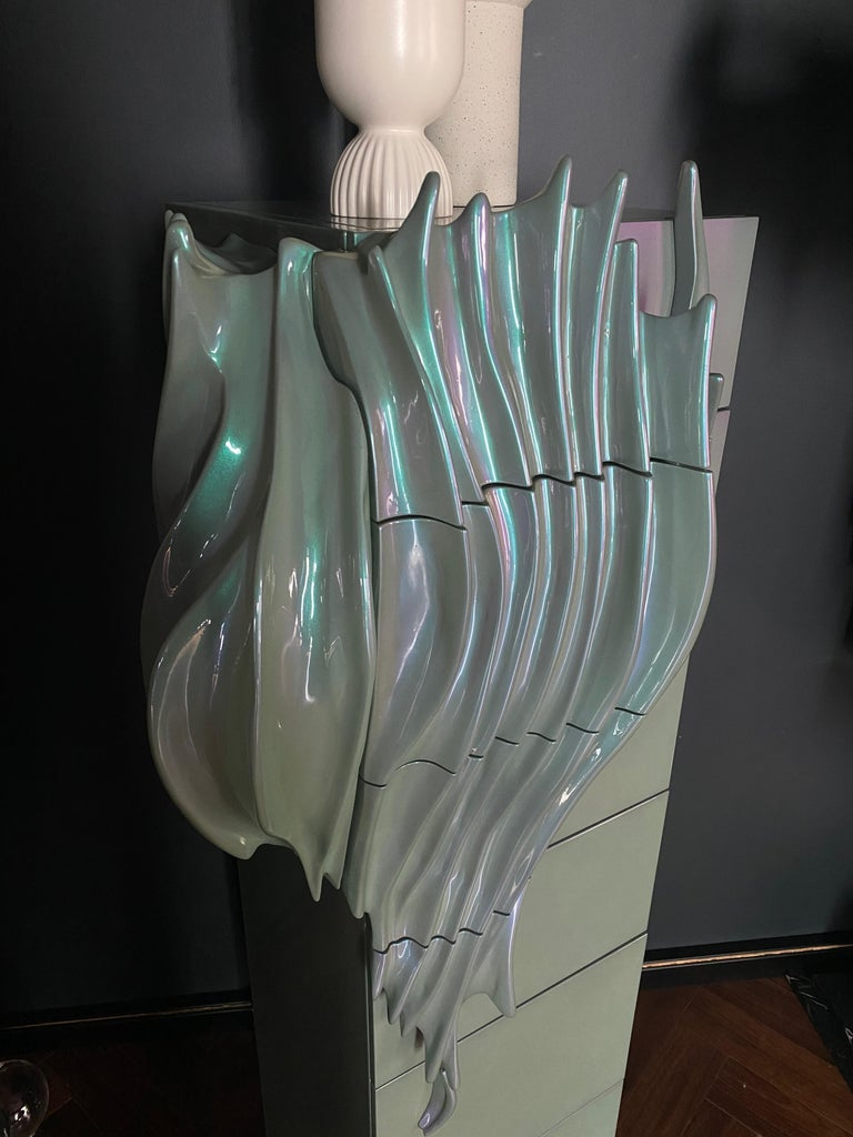'Algae' Limited Edition Drawer Cabinet from Egli Design For Sale 2