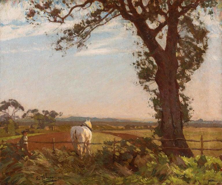 Algernon Talmage (circle) Landscape Painting - The Noonday Sun